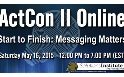 SI Presents ActCon II Online: Start to Finish: Messaging Matters