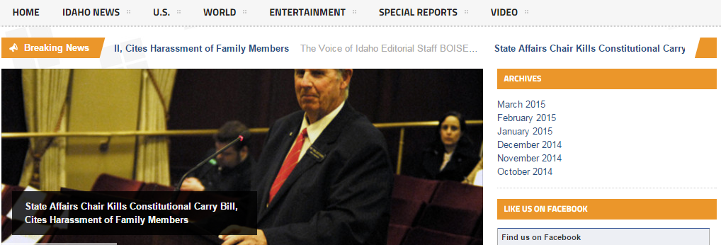 The Voice of Idaho Revamps Web Presence Thanks to SI Help