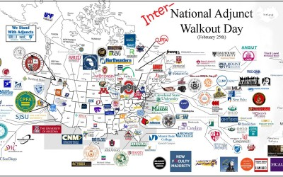 National Adjunct Walkout Raises Awareness of Working Conditions, Wages